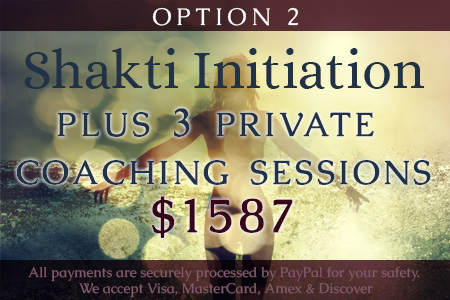 Shakti Program and Coaching